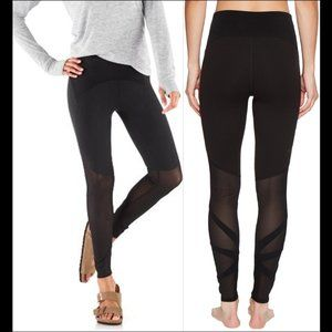 New North Face Vision Mesh mid-rise tight leggings